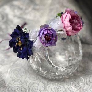 Handmade Flower Crown-Adjustable